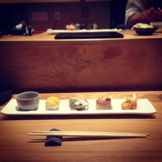 sushi innovation at kusakabe